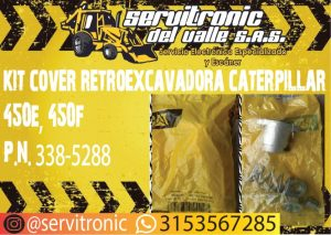 KIT COVER RETROEXCAVADORA CATERPILLAR REF, 450E, 450F