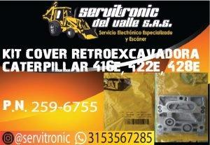 KIT COVER RETROEXCAVADORA CATERPILLAR REF. 416E 422E 428E.