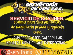 SERVICIO DE ESCANER PARA MAQUINARIA PESADA Y AGRÍCOLA