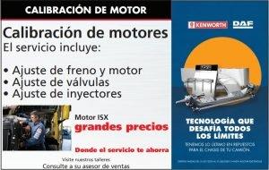 CALIBRACIÓN DE MOTOR