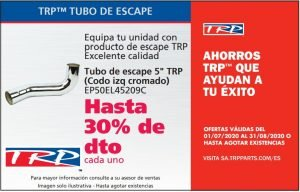 TUBO ESCAPE TRP