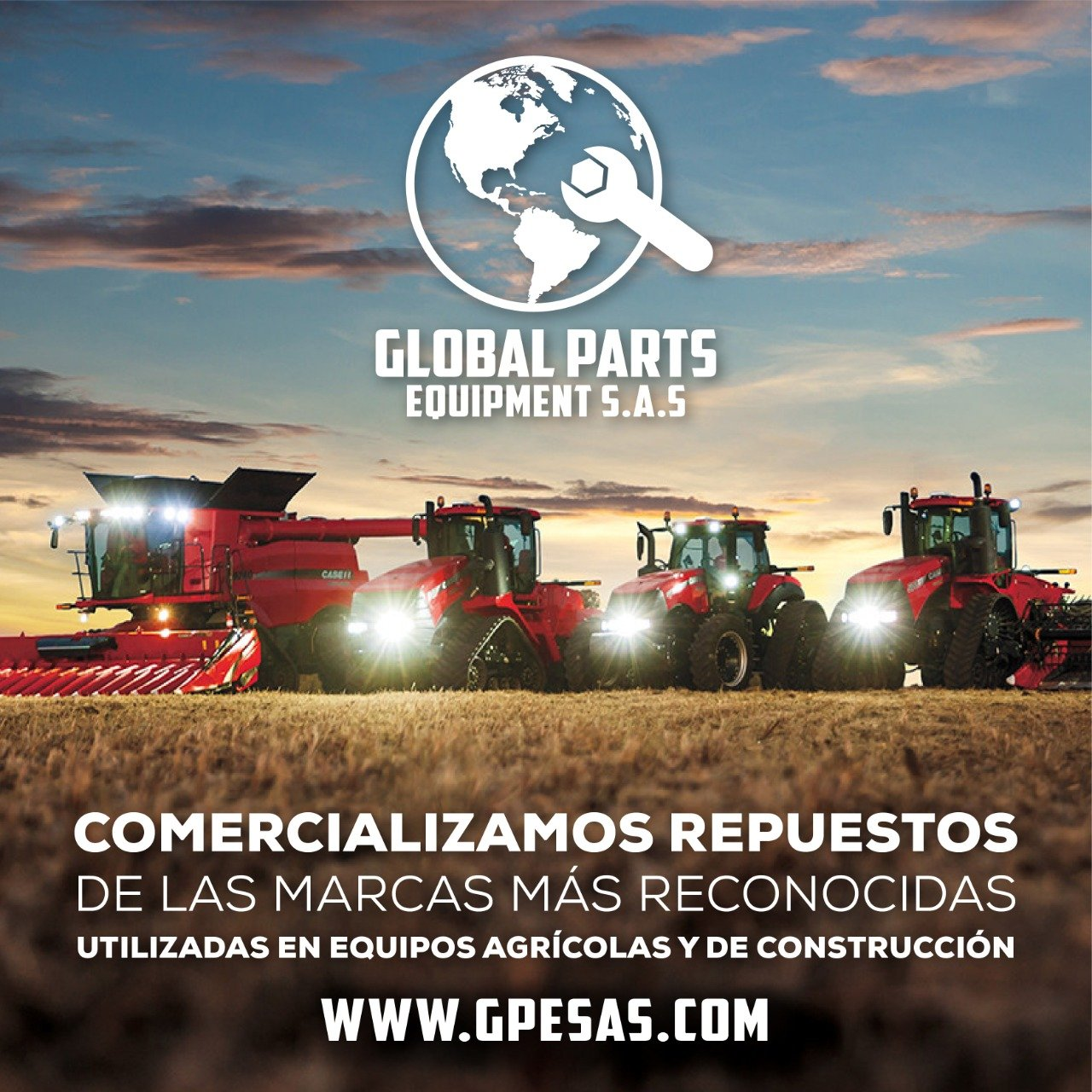 Logo vendedor destacado: GLOBAL PARTS EQUIPMENT<