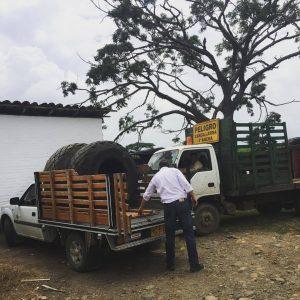 RECOLECCIÓN DE LLANTAS PARA REPARACIÓN TÉCNICA EN PLANTA TECNILLANTAS