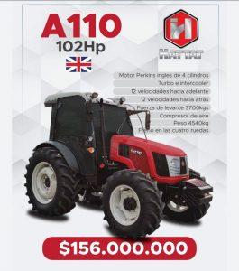 Se vende TRACTOR HATTAT A110