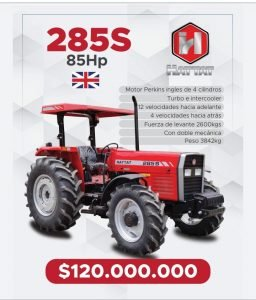Se vende Tractor 285S