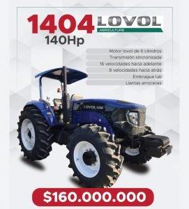 Tractor Lovol 1404