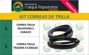 KIT CORREAS DE TRILLA