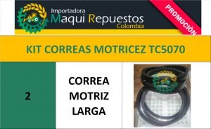 KIT CORREAS MOTRICEZ TC5070