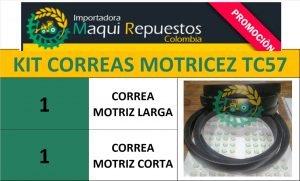 KIT CORREAS MOTRICEZ TC57