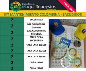 KIT MANTENIMIENTO COLOMBINA – SACUDIDOR