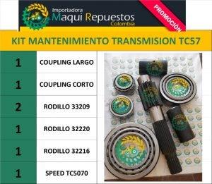 KIT MANTENIMIENTO TRANSMISIÓN TC57