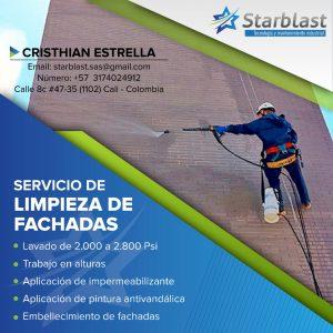 SERVICIO DE LIMPIEZA DE FACHADAS