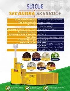 Secadora de grano SUNCUE REF SKS 480C+