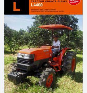 Tractor Kubota Modelo L4400