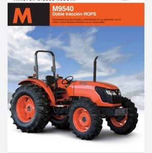 Tractor Marca kubota M-9540DT