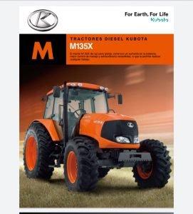Tractor Modelo M135X