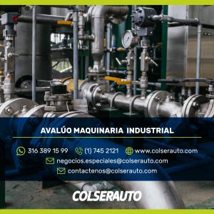 Avalúo Maquinaria industrial