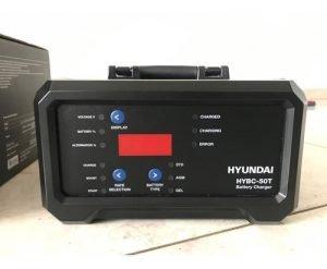 ARRANCADOR BATERIAS 6V Y 12VOL HYUNDAI 110V AC HYBC50T