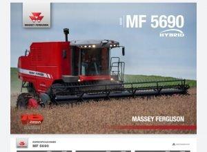 Cosechadora MF5690 HYBRID