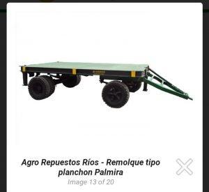 REMOLQUE TIPO PLANCHON
