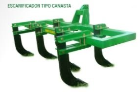 ESCARIFICADOR TIPO CANASTA