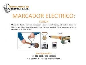 MARCADOR ELECTRICO 1″