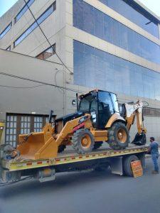 Cabina para retroexcavadora caterpillar 420-416