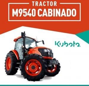 TRACTOR- KUBOTA M9540DTQ